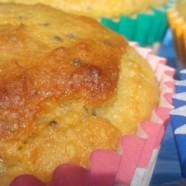 Banana & Chia seed cupcakes (Gluten and dairy free)